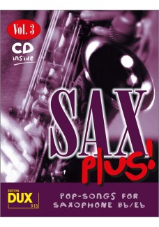 Sax Plus! Vol. 3