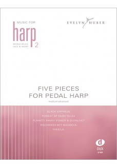 Five Pieces For Pedal Harp 2
