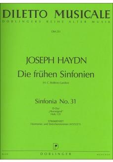 Sinfonia Nr. 31 D-Dur (Mit dem Hornsignal) Hob. I: