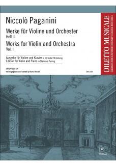 Werke für Violine und Orchester Band 2