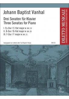 3 Sonatenfür Klavier