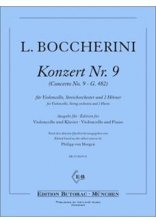 Konzert Nr. 9 G-Dur  (G482)