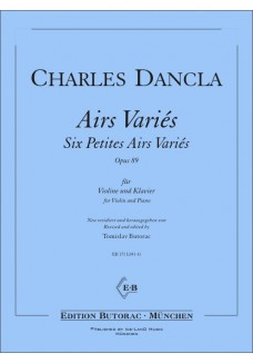 6 Petites Airs Variès op. 89