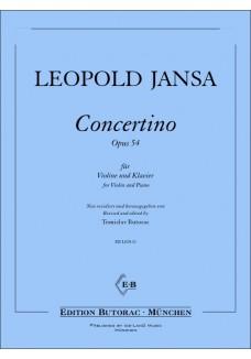 Concertino op. 54