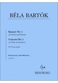 Violinkonzert Nr. 1, Sz. 36, op. posth.
