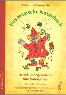 Das magische Notenbuch - im Violinschluessel