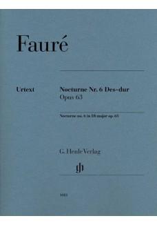 Nocturne Nr. 6 Des-dur op. 63