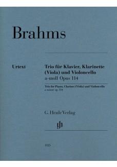 Klarinettentrio a-moll op. 114