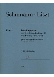 Frühlingsnacht aus dem Liederkreis op. 39