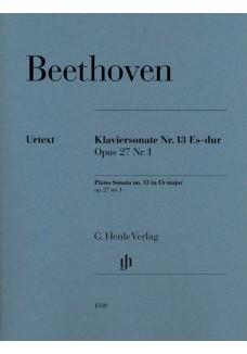 Klaviersonate Nr. 13 Es-dur op. 27 Nr. 1