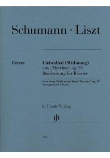 """Liebeslied (Widmung) aus """"Myrthen"""" op. 25"""
