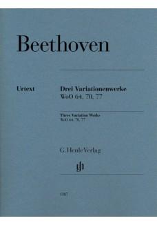 3 Variationenwerke WoO 70, 64, 77