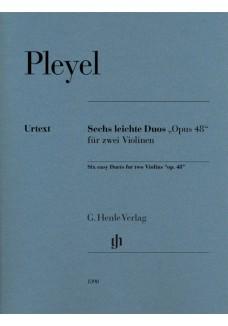 """Sechs leichte Duos """"op. 48"""""""