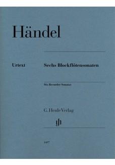 Sechs Blockflötensonaten