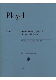Sechs Duos op. 23