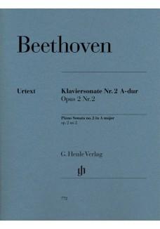 Klaviersonate Nr. 2 A-dur op. 2 Nr. 2