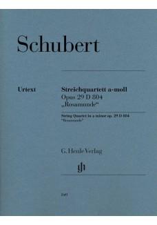 """Streichquartett a-moll op. 29 D 804 """"Rosamunde"""""""