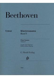 Klaviersonaten Band 1 (ohne Fingersatz)