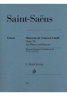 Morceau de Concert f-moll op. 94
