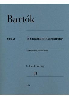 15 Ungarische Bauernlieder