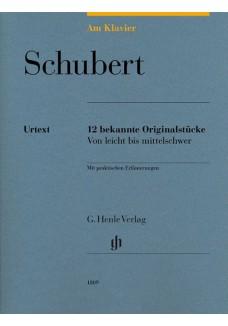 Am Klavier - 12 bekannte Originalstücke