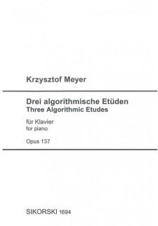 Drei algorithmische Etüden op. 137