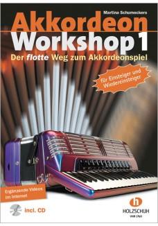 Akkordeon Workshop, Band 1 (mit CD)