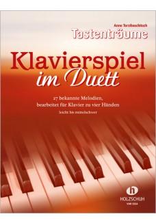 Klavierspiel im Duett