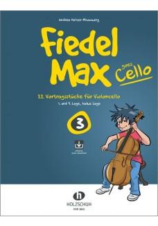 Fiedel-Max goes Cello 3 (mit CD)