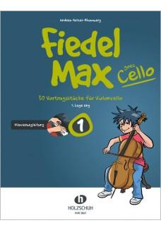 Fiedel-Max goes Cello 1 - Klavierbegleitung