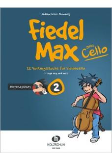 Fiedel-Max goes Cello 2 - Klavierbegleitung
