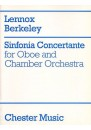 BERKELEY Sinfonia Concertante op. 84 Oboe / Pf red