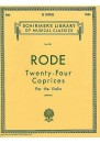 Rode 24 Caprices (Berkley) Solo Violin