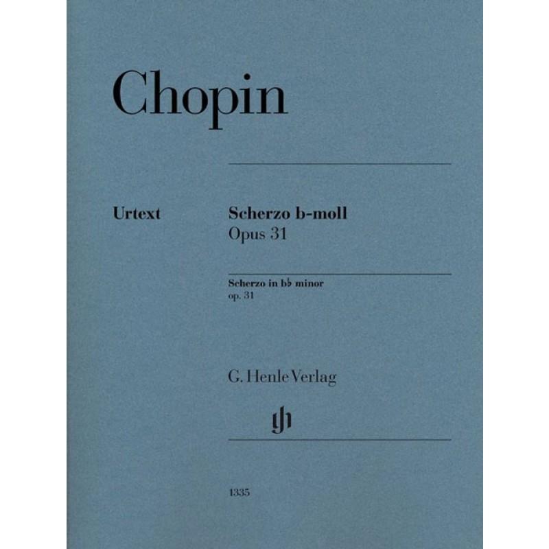 Scherzo B-moll Op. 31