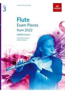 Flute Exam Pieces from 2022, ABRSM Grade 3